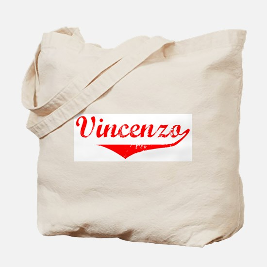 Vincenzo Vintage (Red) Tote Bag