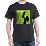 iMom Green Mother's Day Black T-Shirt