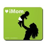 iMom Lime Green Mother's Day Mousepad