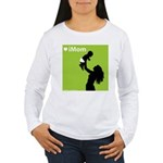 iMom Lime Green Mother's Day Women's Long Sleeve