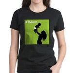 iMom Lime Green Mother's Day Women's Dark T-Shirt