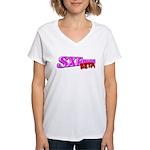 SXEmacs Women's V-Neck T-Shirt