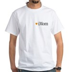 iMom Orange Mother's Day White T-Shirt