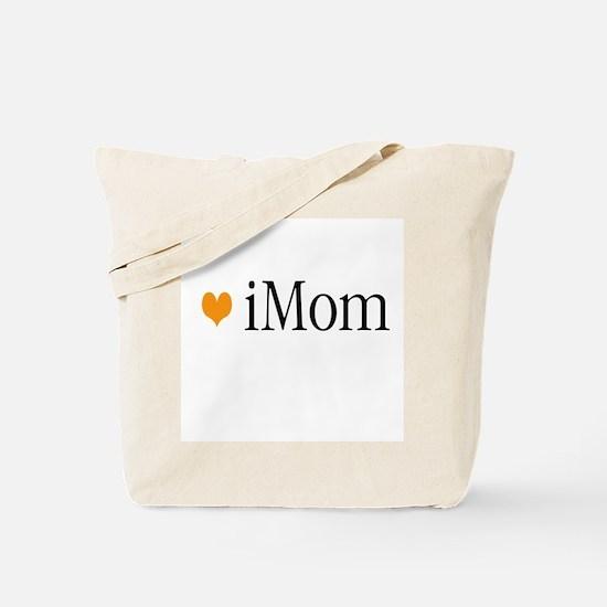 iMom Orange Mother's Day Tote Bag