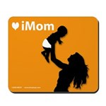 iMom Orange Mother's Day Mousepad