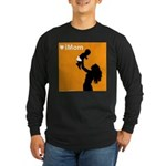 iMom Orange Mother's Day Long Sleeve Dark T-Shirt