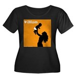iMom Orange Mother's Day Women's Plus Size Scoop N
