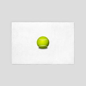 Tennis Ball 4' x 6' Rug
