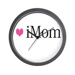iDad Pink Father & Baby Wall Clock