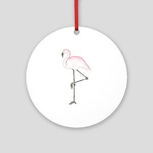 Flamingo Ornament (Round)