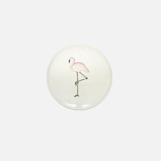 Flamingo Mini Button