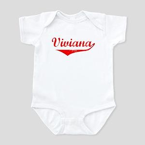Viviana Vintage (Red) Infant Bodysuit