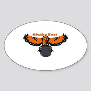 Olathe East Oval Sticker