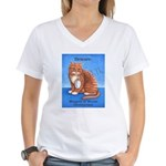 Roosevelt WMD Women's V-Neck T-Shirt