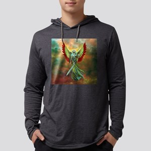 Holy angel Mens Hooded Shirt