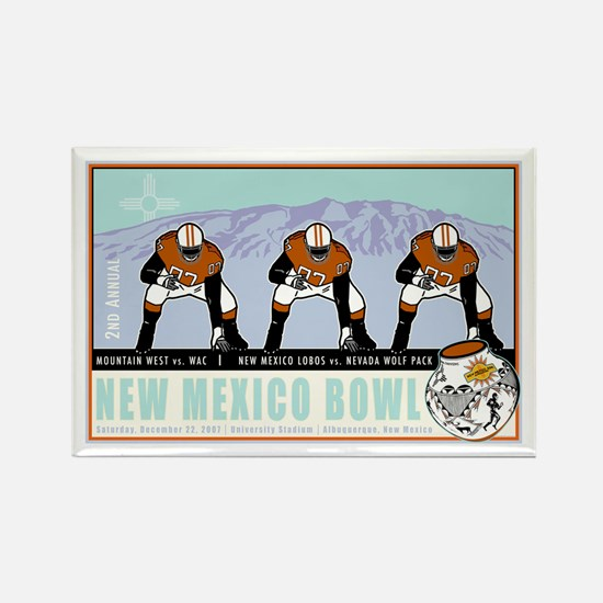 New Mexico Bowl 2007 Rectangle Magnet (10 pack)