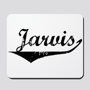 Jarvis Vintage (Black) Mousepad