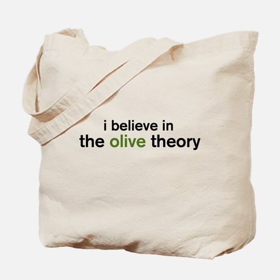 Olive Theory Tote Bag