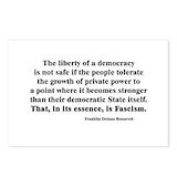 Fascism Postcards