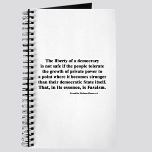 Freedom or Fascism Journal