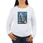 TRUST WHALE Women's Long Sleeve T-Shirt