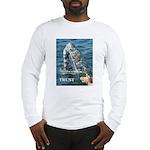 TRUST WHALE Long Sleeve T-Shirt