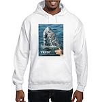 TRUST WHALE Hooded Sweatshirt