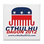 Cthulhu/Dagon2012 Tile Coaster
