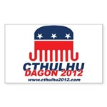 Cthulhu/Dagon2012 Rectangle Sticker