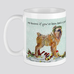 Brussels Griffon Christmas Mug