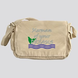 Merman Of Your Dreams (White) Messenger Bag