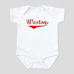 Weston Vintage (Red) Infant Bodysuit