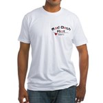 Get Off The Phone Fitted T-Shirt