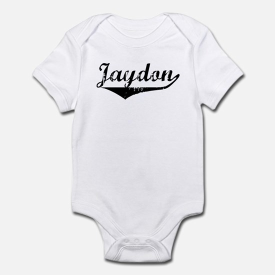 Jaydon Vintage (Black) Infant Bodysuit