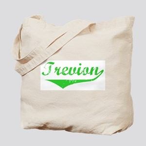 Trevion Vintage (Green) Tote Bag