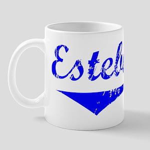 Esteban Vintage (Blue) Mug
