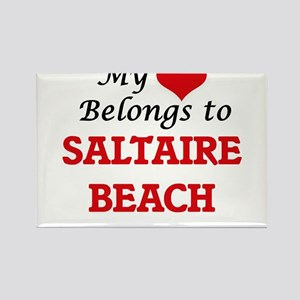 My Heart Belongs to Saltaire Beach New Yor Magnets
