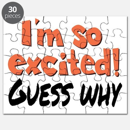 I'm so excited! Puzzle