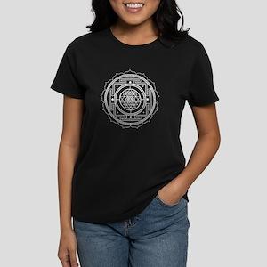 Sri Yantra Design Women's Dark T-Shirt