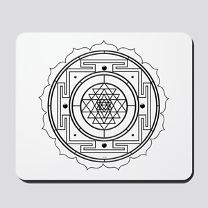 Sri Yantra Design Mousepad