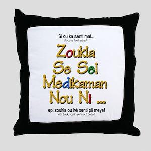 Zoukla Se Sel Throw Pillow