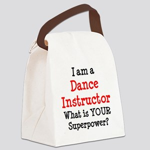 dance instructor Canvas Lunch Bag