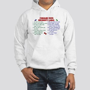 Canaan Dog Property Laws 2 Hooded Sweatshirt