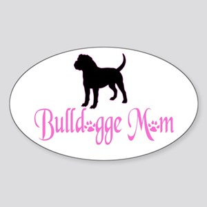 Olde English Bulldogge Mom Sticker