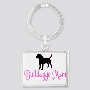 Olde English Bulldogge Mom Keychains