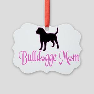 Olde English Bulldogge Mom Ornament