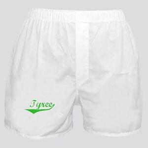 Tyree Vintage (Green) Boxer Shorts