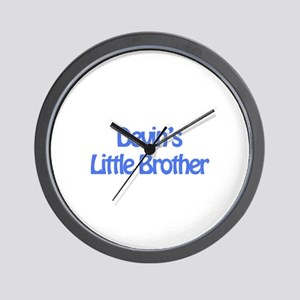 Devin's Little Brother Wall Clock