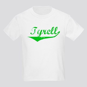 Tyrell Vintage (Green) Kids Light T-Shirt