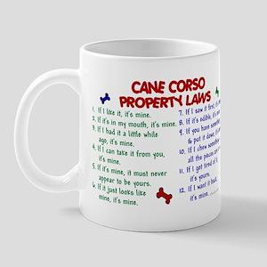 Cane Corso Property Laws 2 Mug